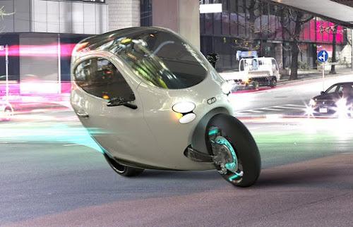 Mundo Tech - C1 Meio Moto, Meio Carro.