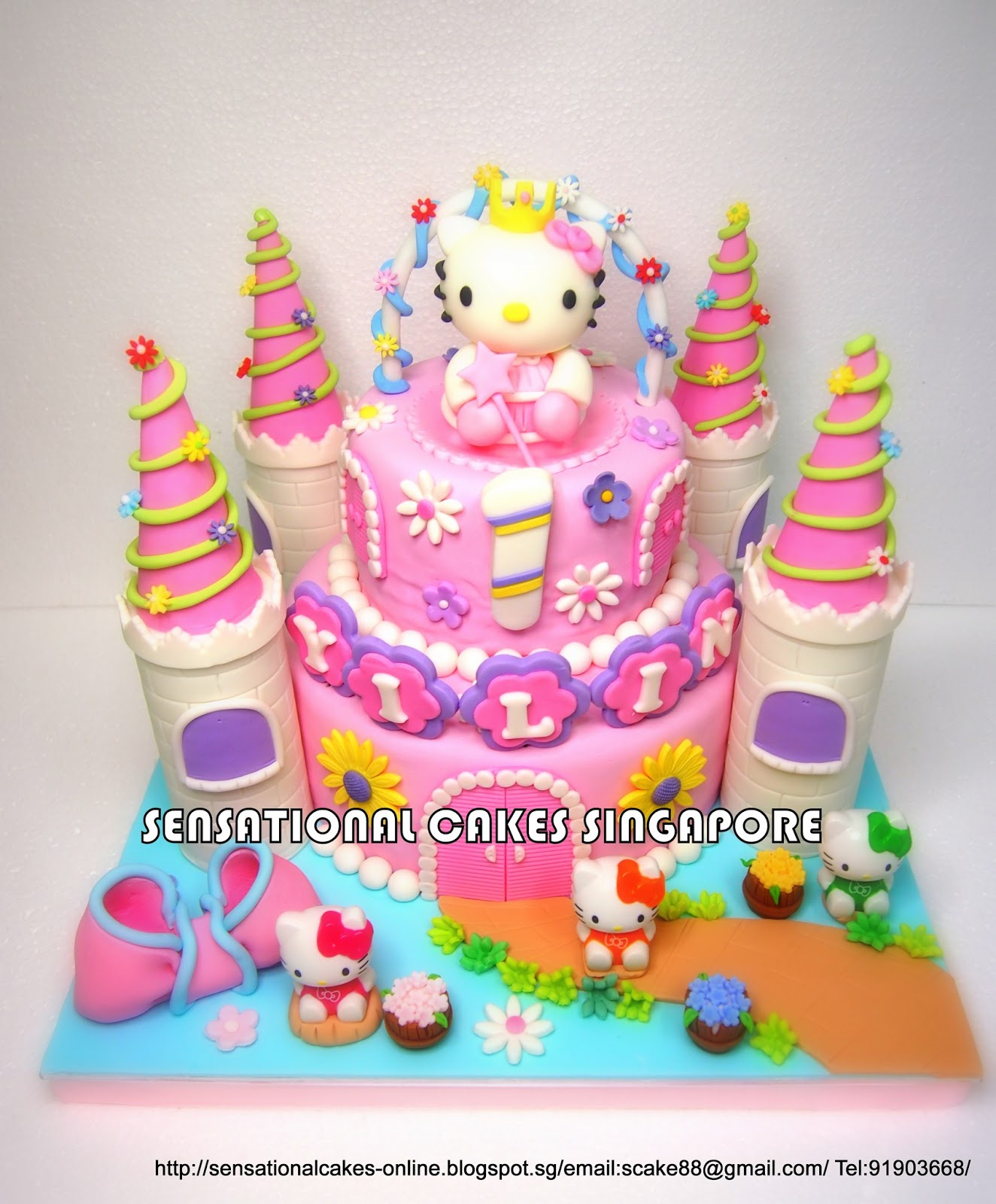 The Sensational Cakes Spectacular Princess Kitty Cake Singapore W