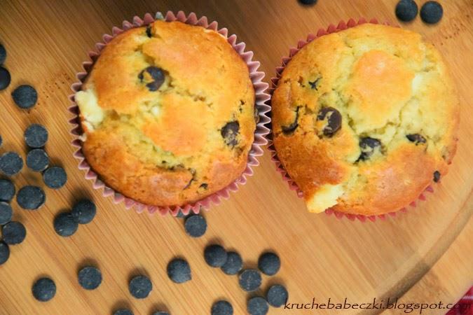 Muffinki, babeczki dwie czekolady