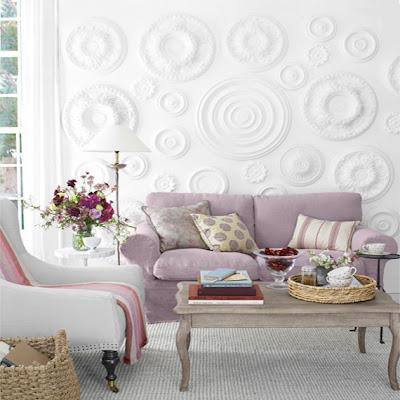 Deco chambre interieur d coration romantique en pastel Deco romantique salon