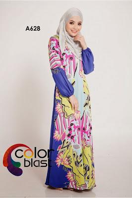 Jubah Dress Murah Dari Color Blast Closet