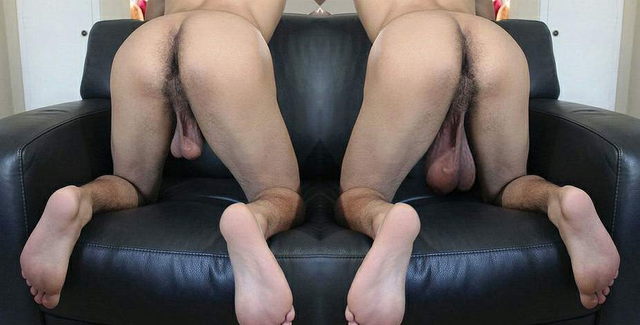 Low Hangers from Behind. Looks like those bull balls you can hang from the ...