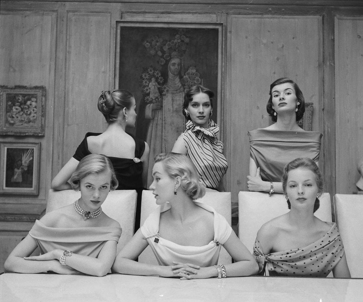 Ретро 50 годов женщины 29 фотография