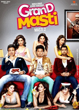 Grand Masti (2013) HDSCamRip Full Movie Watch Online Free