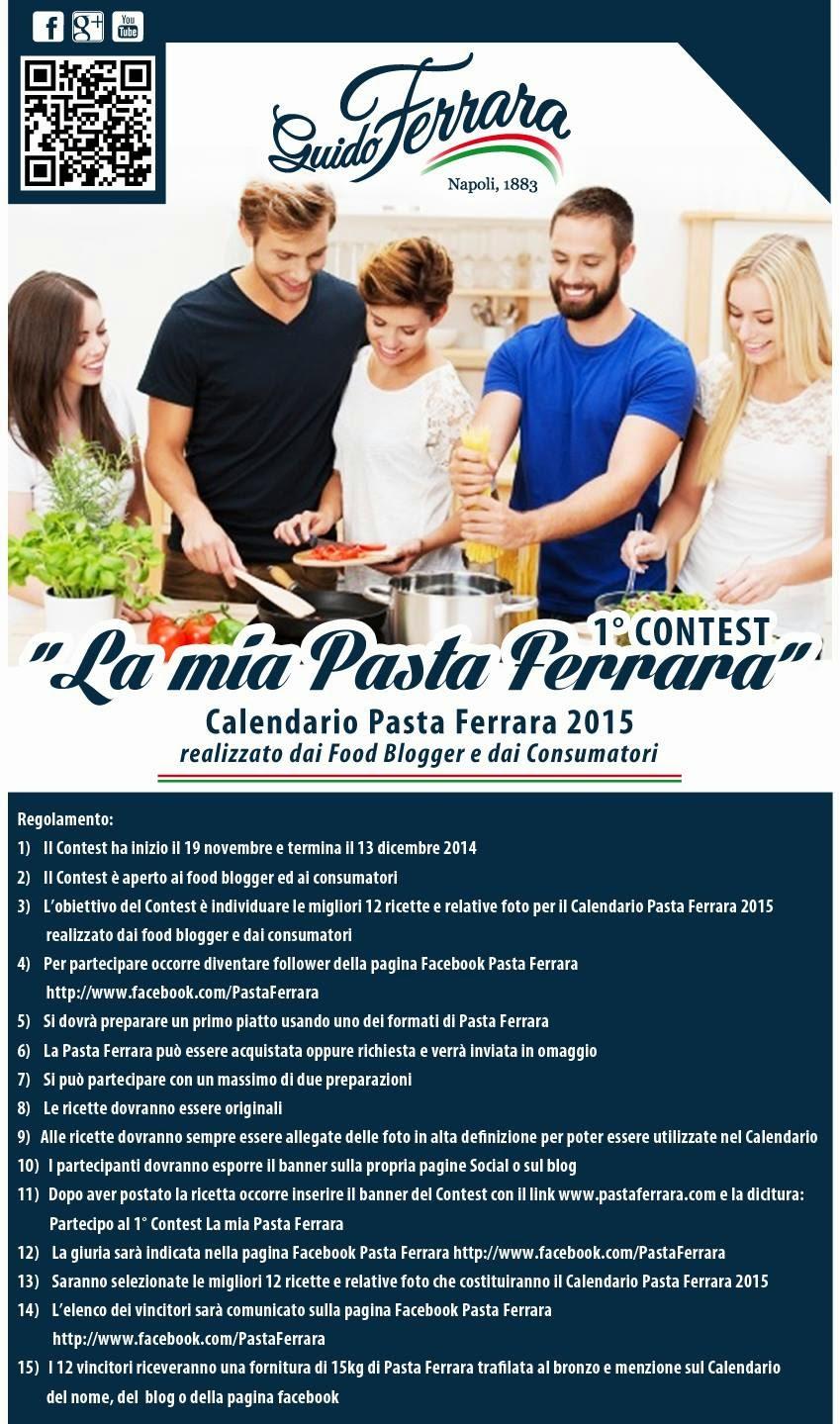 """1° Contest """"La mia Pasta Ferrara"""""""