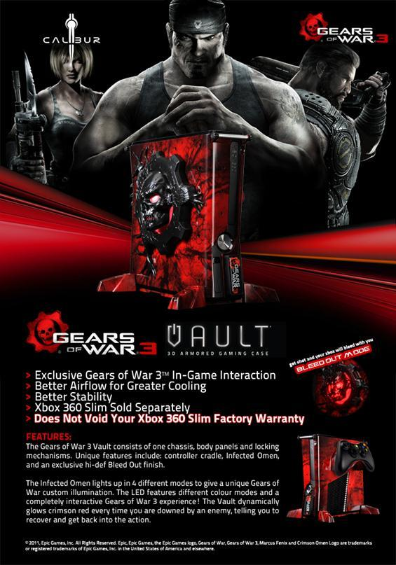 Gears of War, Gears of War 3, Xbox, Console, Modding, Awesome, gaming, games, videogames, article, Xbox mods, Future Pixel