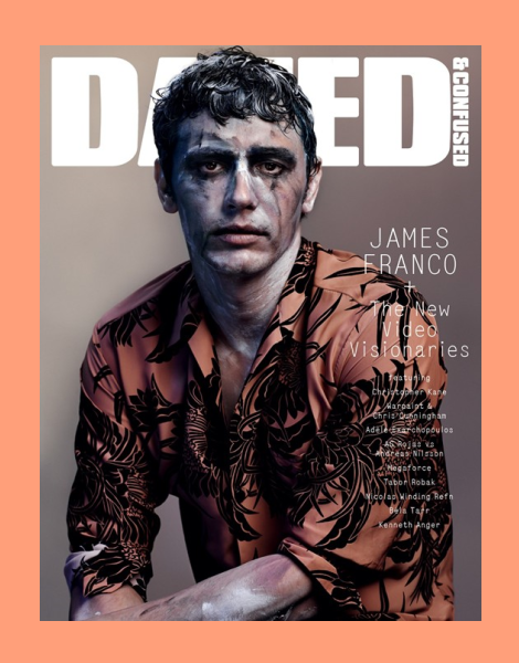 ames Franco by Josh Olins for Dazed & Confused