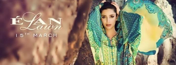 mahira khan elan lawn 2014 brand ambassador