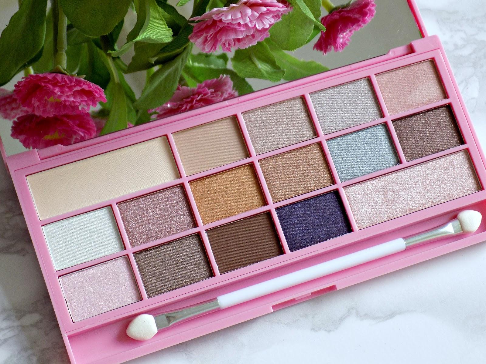Makeup Revolution 'Pink Fizz' palette