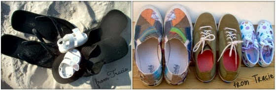 family of shoes