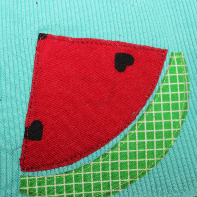 sew around an applique