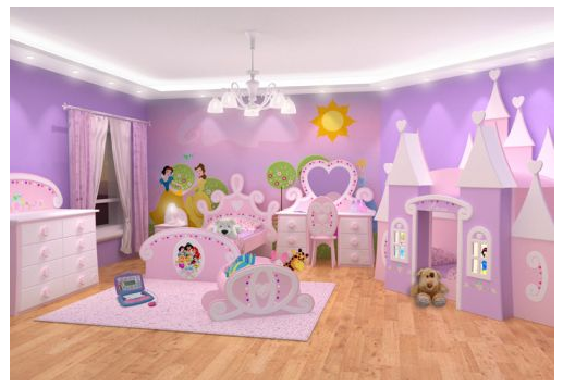 Image gallery habitaciones de princesas - Decoracion de dormitorios infantiles ...