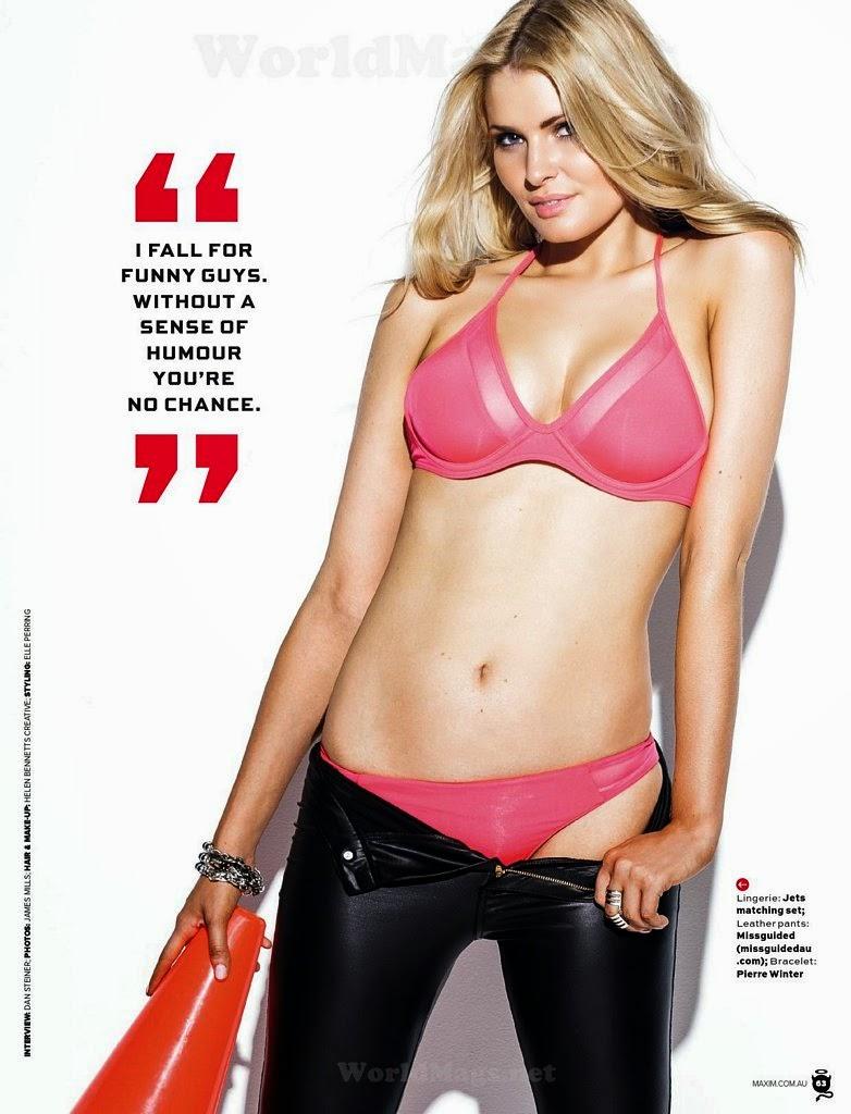 Olivia Kenny For Maxim Magazine, Australia, May 2014