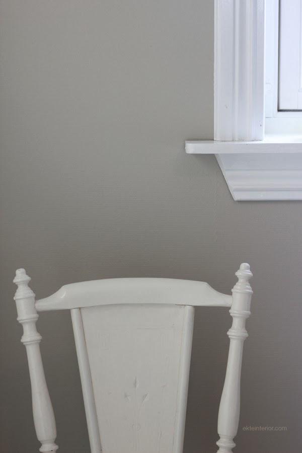 Ekte interiØr: hvit maling er jo nesten en hel vitenskap!