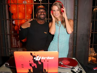 Julie Henderson and DJ Irie throw Art Basel Bash at Superdry Miami Beach