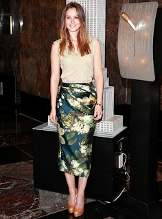 ... and Style: Beautiful actress Leighton Meester Fashion Inspiration