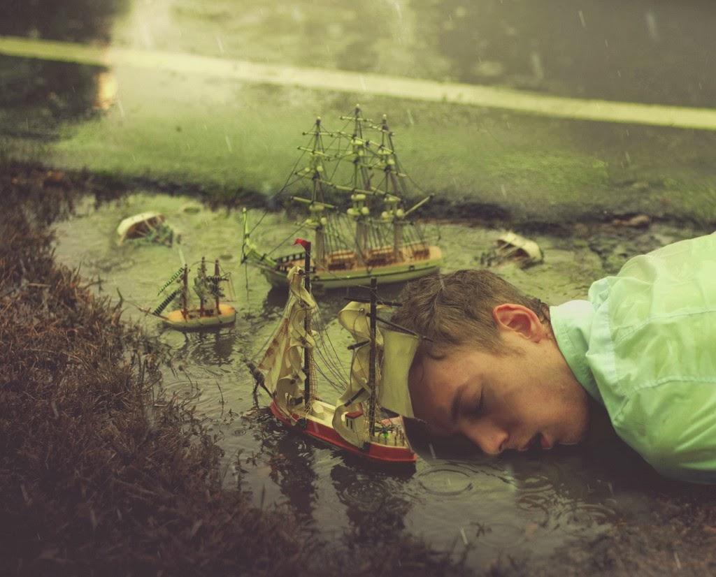 Sueño bajo la lluvia...