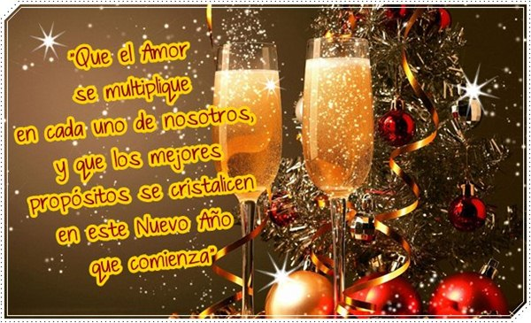 Tarjetas de a o nuevo 2018 feliz a o nuevo 2018 - Textos para felicitar la navidad y el ano nuevo ...
