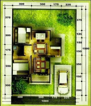 desain rumah minimalis type 54 3