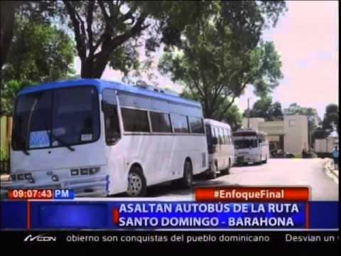 Policía hiere y apresa intercambio disparos hombre asaltó pasajeros viajaban guagua hacia el sur