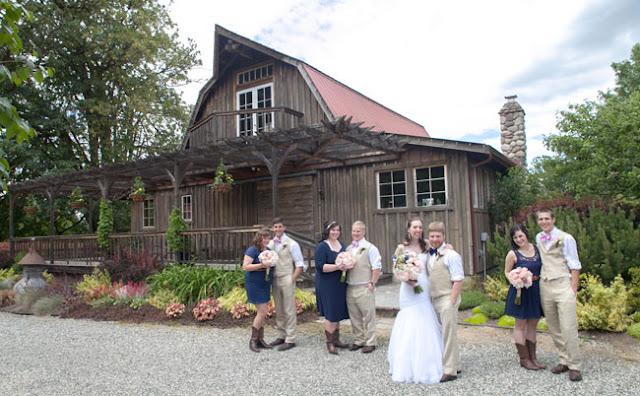 wedding at red cedar farms