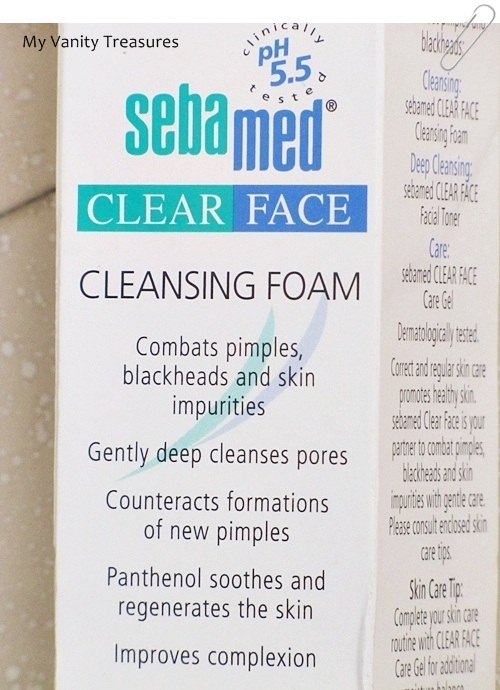 Sebamed Cleansing Foam