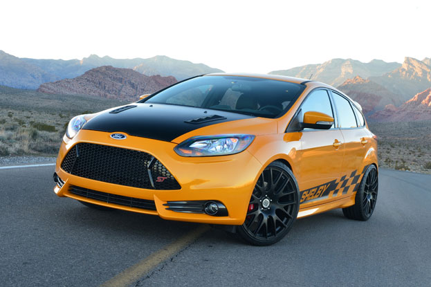 Prix: Shelby Ford Focus ST 2013 Salon Auto - Montreal