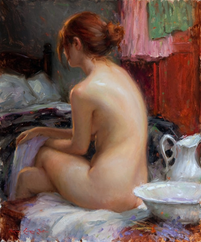 Bryce Cameron Liston 1965 | American Figurative painter
