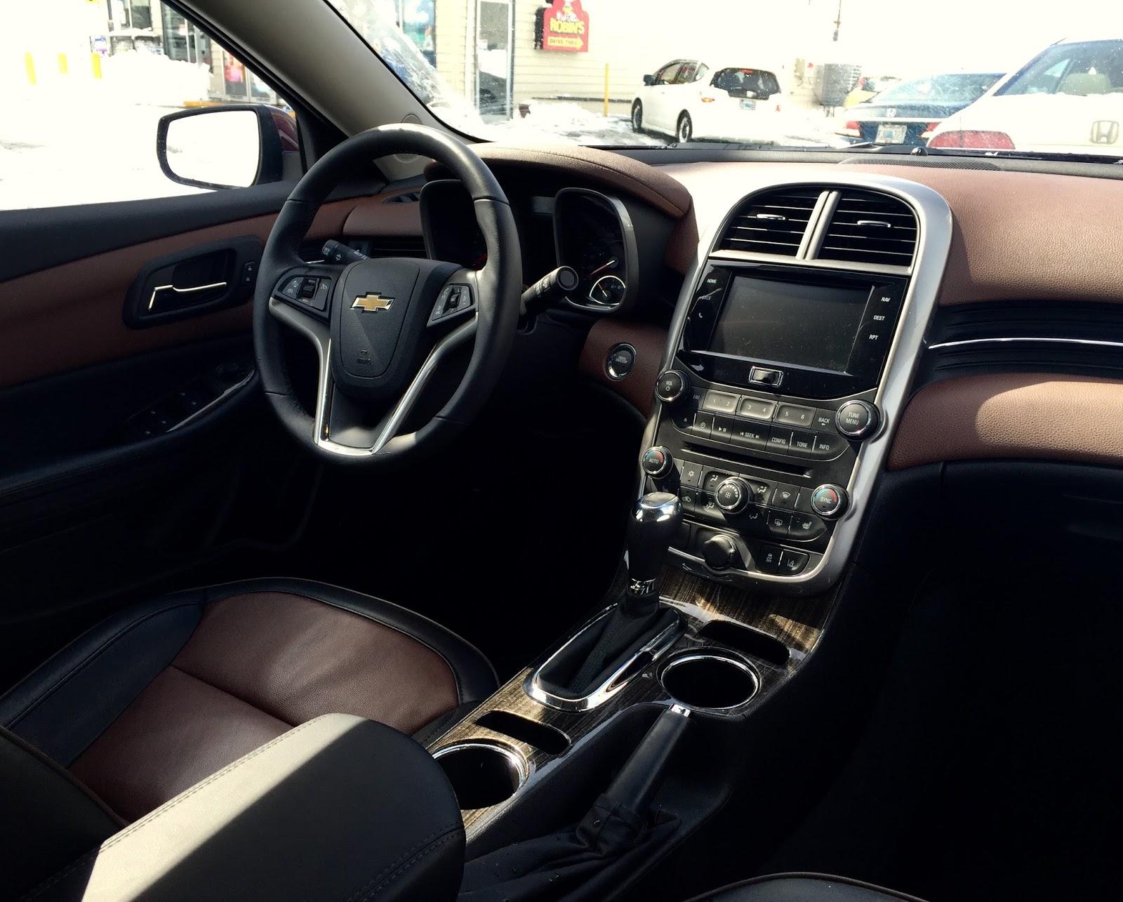 2015 Chevrolet Malibu LTZ 1LZ interior