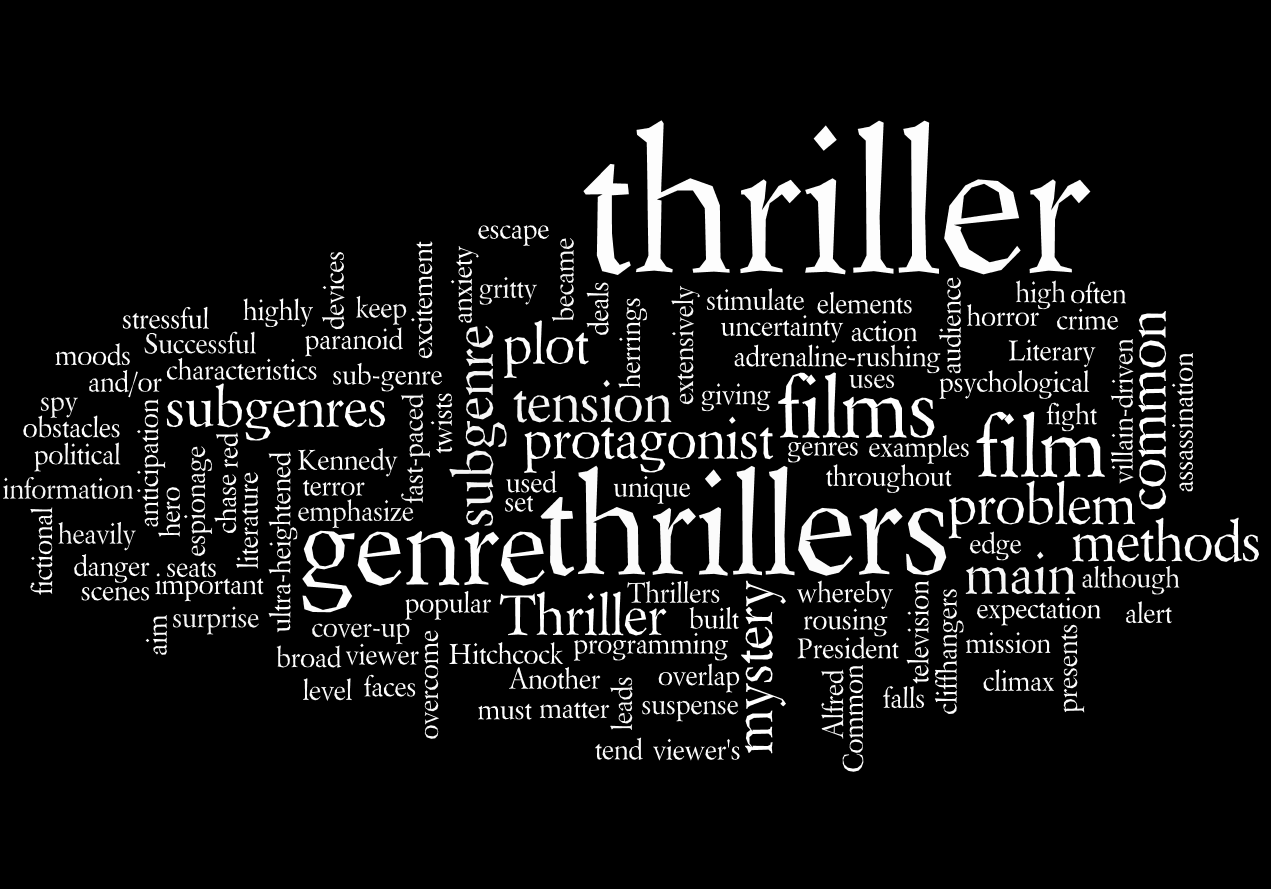 thriller genre This timeline shows the lifetime of the thriller genre according to christian metz development of genre theoryi will be using the thriller genre as an example as it.