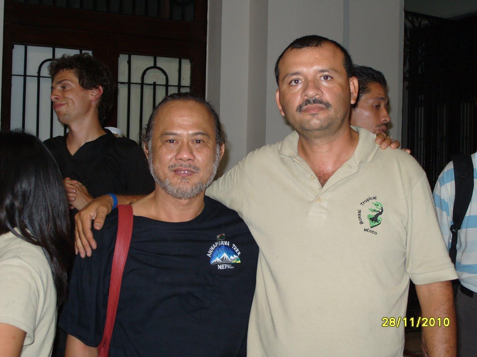 Con el Maestro Robert Stevens felab 2010