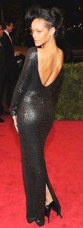 Rihanna en la gala del MET 2012