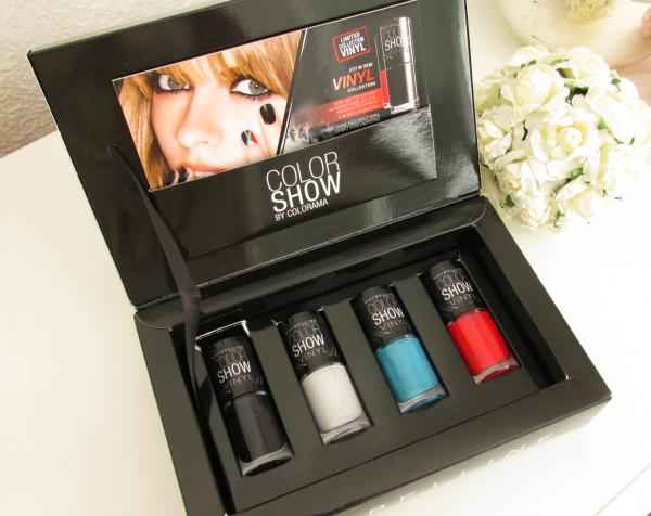 Maybelline Color Show VINYL Kollektion Blogger Box