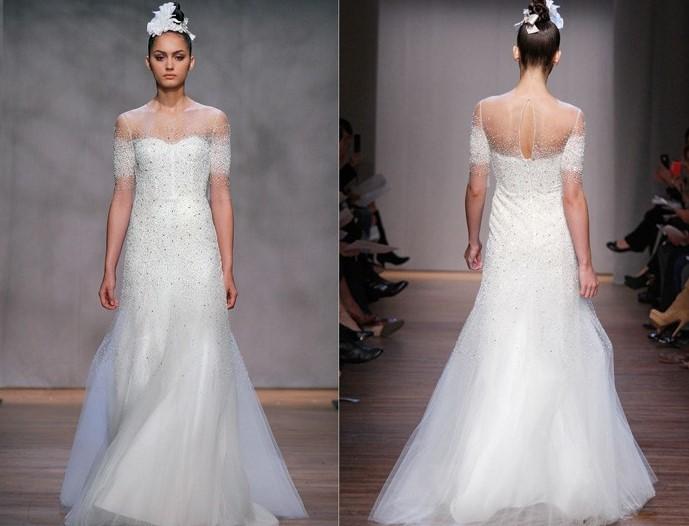 MONIQUE LHUILLIER FALL 2011 WEDDING DRESS COLLECTION
