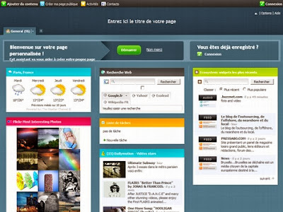 Netvibes: Provide RSS links to generate widgets