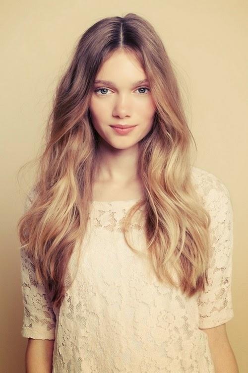 aguiavoaalto 2014 women fashion trends easy long blonde
