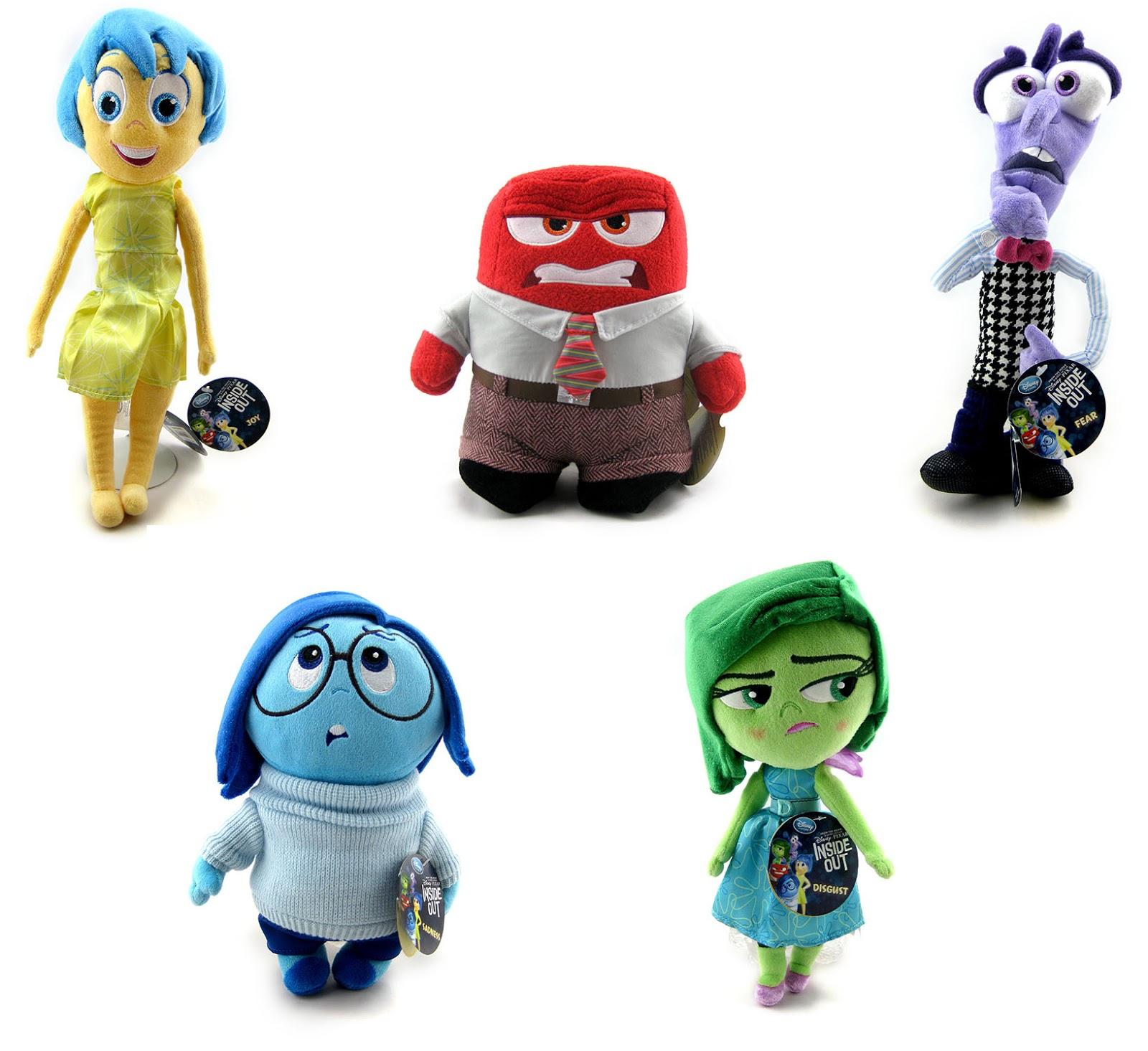Disney Store Toys : Dan the pixar fan inside out disney store plush