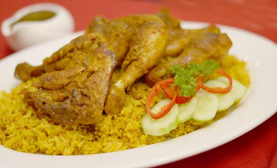 Zabadani Chicken Biryani