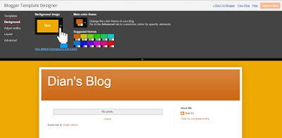 Blogger Template