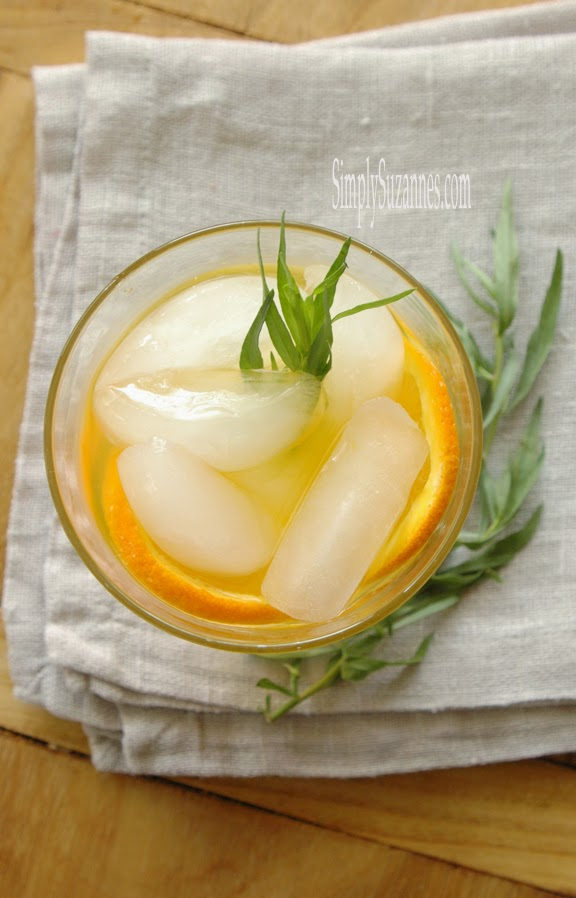 orange tarragon syrup
