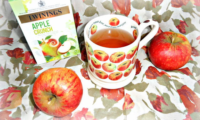 Apple Crunch infusion, herbal tea, caffeine-free
