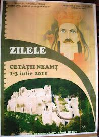 Afişul oficial, Zilele Cetăţii Neamţ...