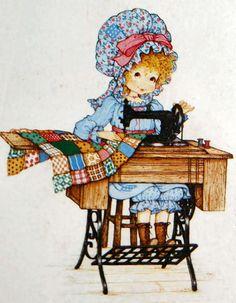 Dibujos m quinas de coser - Dessin couturiere ...
