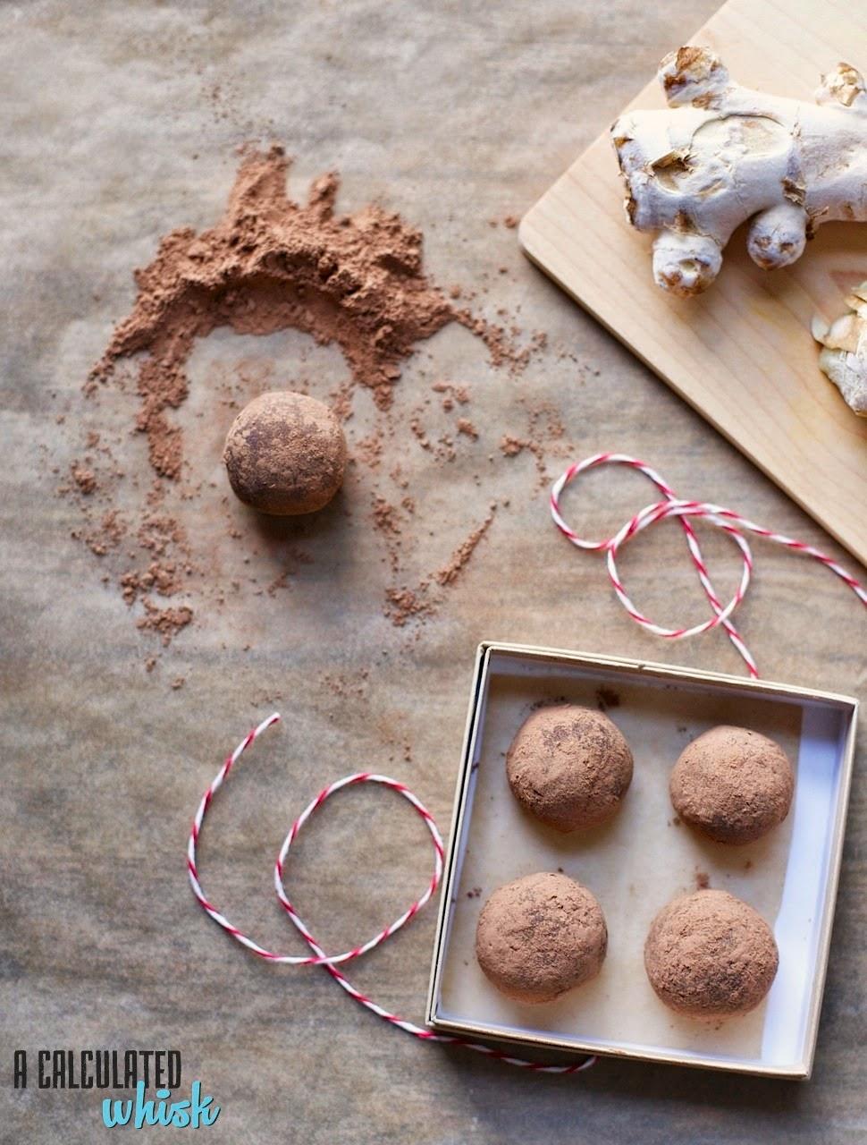Choco-Ginger Truffles (Paleo)