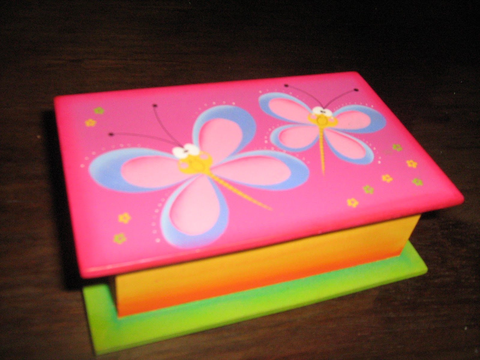 Country sweet cajas decoradas y en crudo variedad de - Cajas grandes de carton decoradas ...