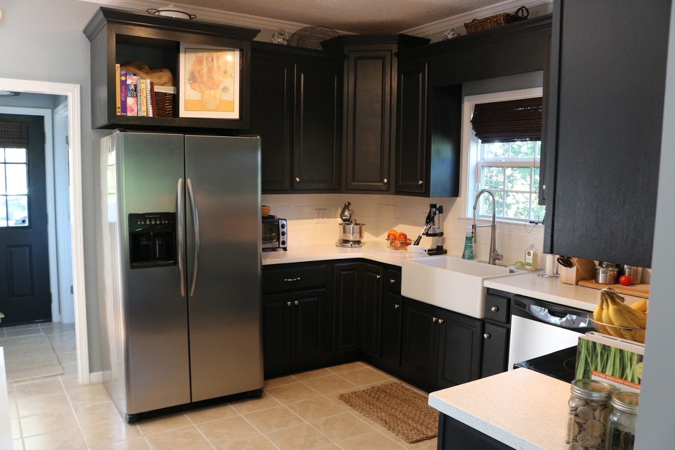 Allen And Roth Backsplash Part - 47: Now Weu0027re Talking About Adding Can Lighting! The Black Does Darken Up The  Space A Bit More And Weu0027d Discussed This In The Past, So I Think This Is  Yet ...