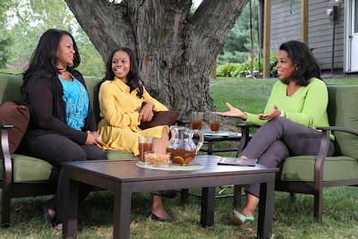 Oprah interviews Gabby Dougalas