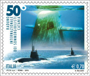 Italy: 50th International Meeting of the submariners in Catania - http://e-filatelia.poste.it/