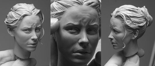 As esculturas humanamente realistas de Adam Beane - 04
