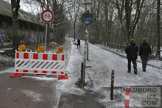 Baustelle Kaifuradweg